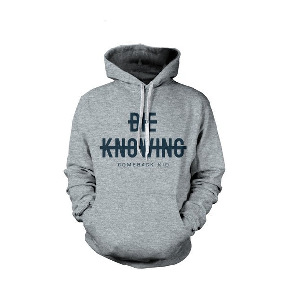 Strikethrough Hoodie (Grey)