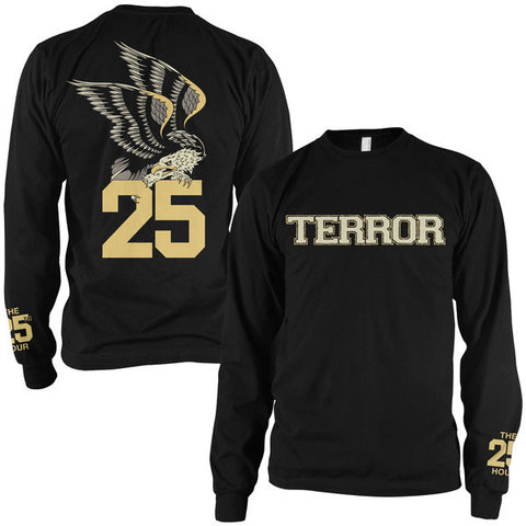 Terror Official Merch - Eagle (Black Longsleeve)