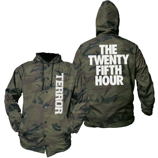 Terror Official Merch - The Camo Hour Windbreaker (Camo)