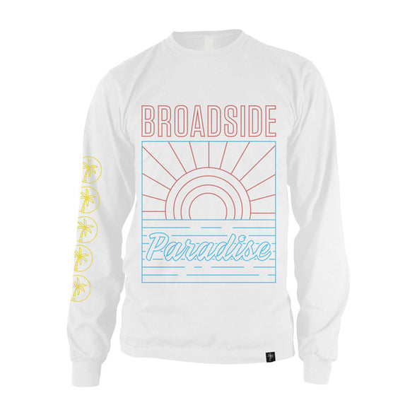 Sunrise Tagged Longsleeve (White)