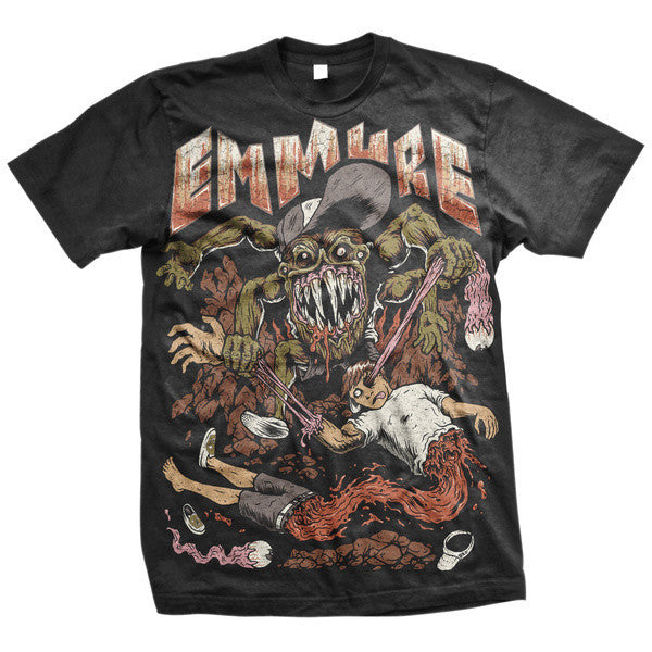 Emmure Official Merch - Garthock (Black Tee)