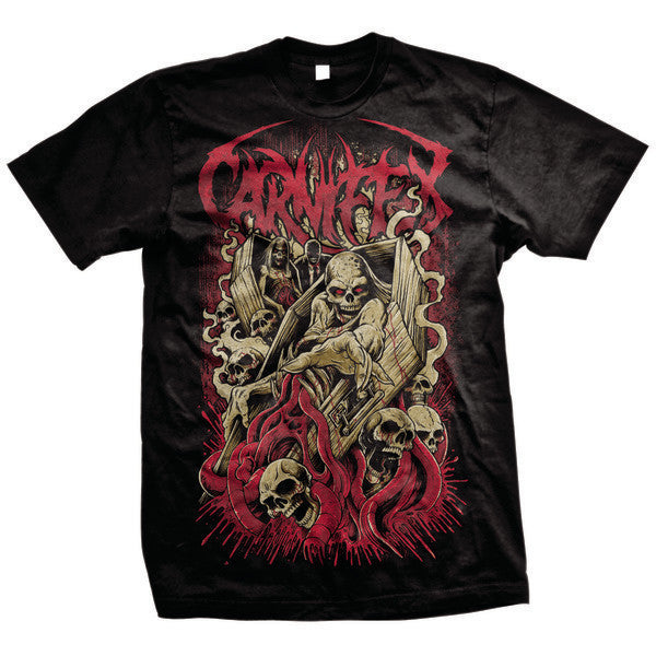 Carnifex Official Merch - Hell Chose Me (Black Tee)