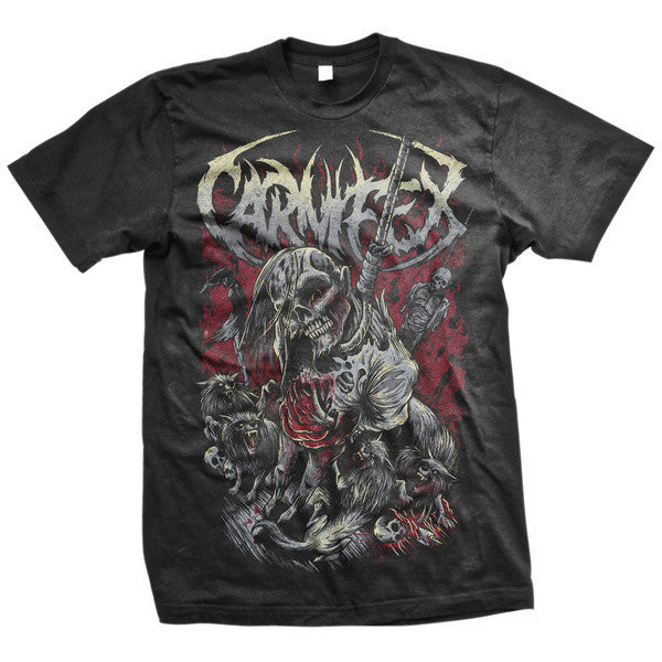 Carnifex Official Merch - Hanging Corpse (Black Tee)