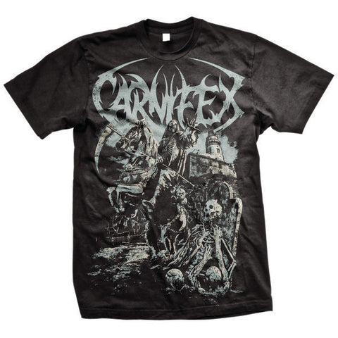 Carnifex Official Merch - Darkhorse (Black Tee)