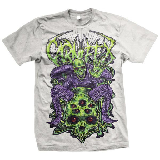 Carnifex Official Merch - Mushrooms (White Tee)