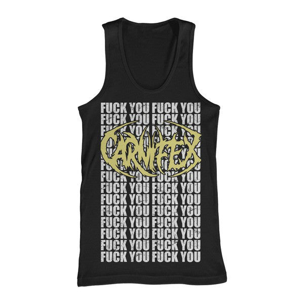 Carnifex Official Merch - F You (Black Tank)