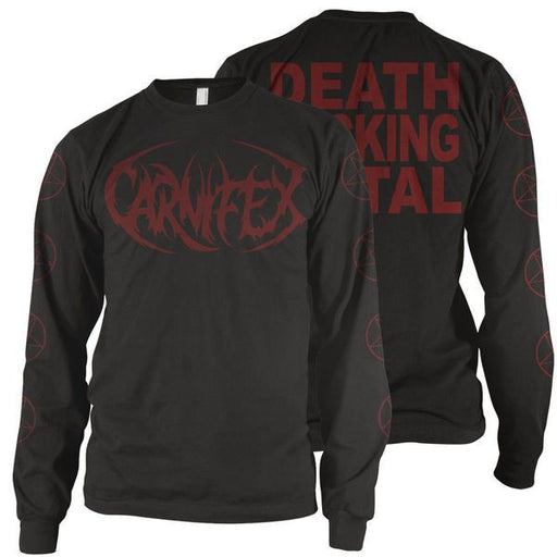 Carnifex Official Merch - DFM Pentagram (Black Longsleeve)