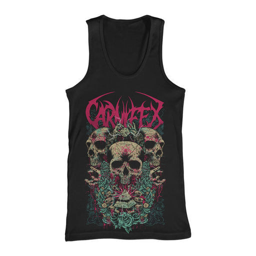 Carnifex Official Merch - All Seeing Eye (Black Tank)