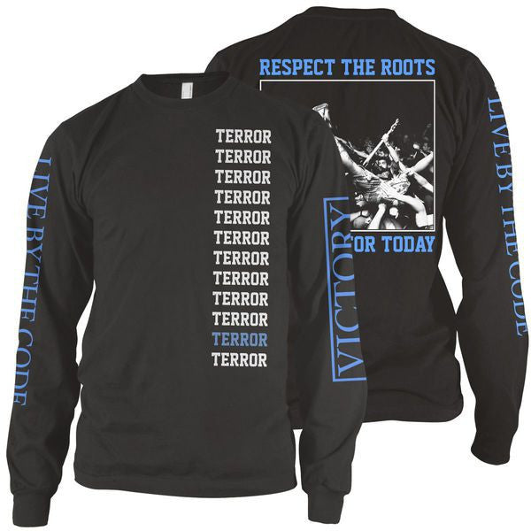 Terror Official Merch - Live For Today (Black Longsleeve)