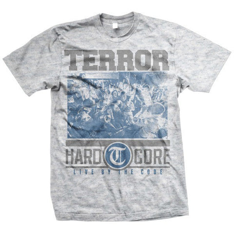 Terror Official Merch - Hardcore (Grey Tee)