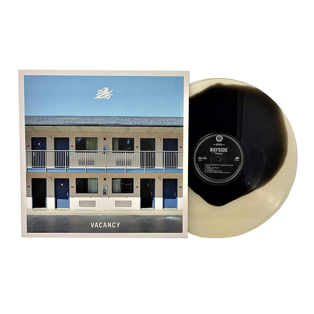 "Bayside - Vacancy 12"" (Black In Cloudy Clear)"