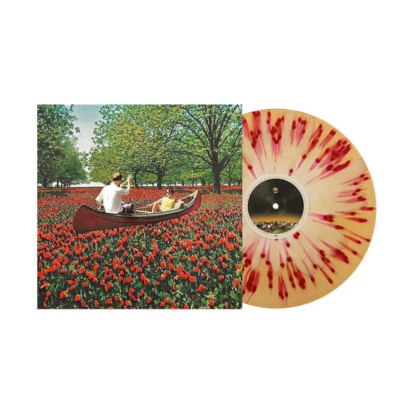 "Stay Inside 12"" Vinyl (Cream inside of Beer w/ Red splatter)"