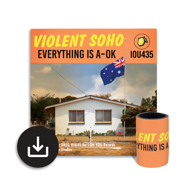 Everything is A-OK Digital Album + Free Stubby Holder