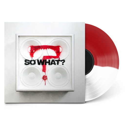 "So What? 12"" Vinyl (Half Transparent Red/Half White) // PREORDER"