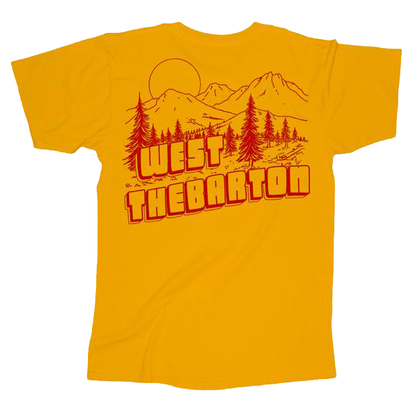 Bible Camp Tee (Yellow)