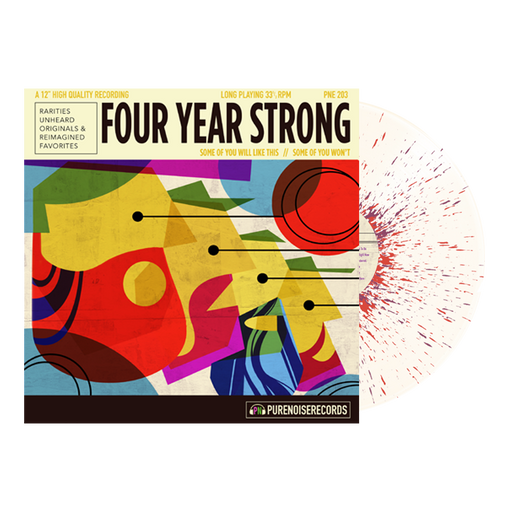 "Four Year Strong // Some of You Will Like This, Some of You Won't 12"" Vinyl (Bone w/ Heavy Purple)"