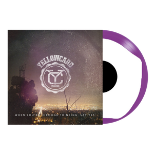Yellowcard Official Merch - When You're Through Thinking, Say Yes 12
