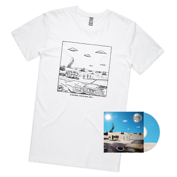 Positive Rising: Part 1 CD + White Tee