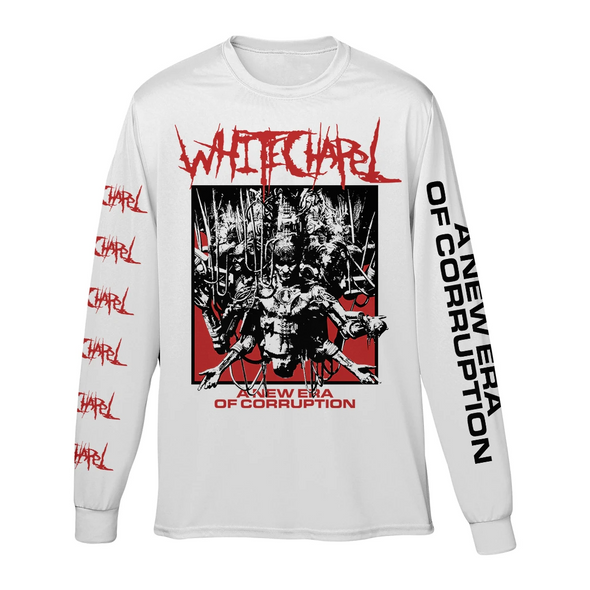 New Era Longsleeve (White)