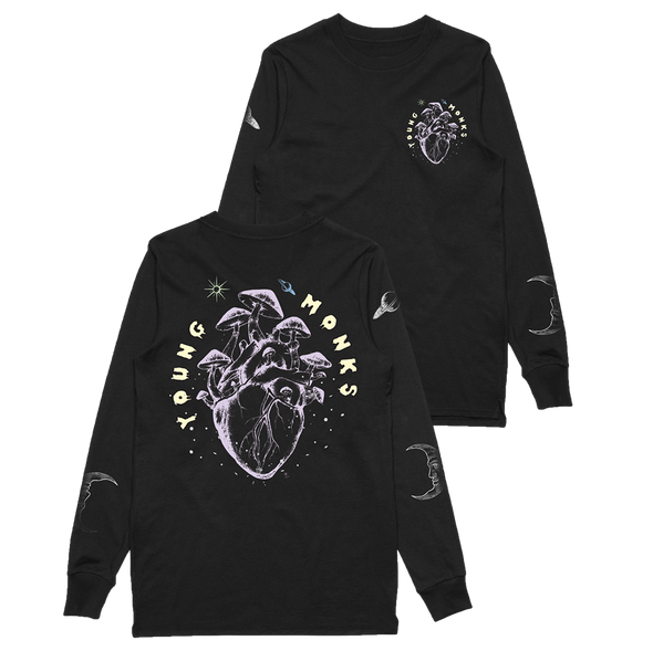 Heart Longsleeve (Black)