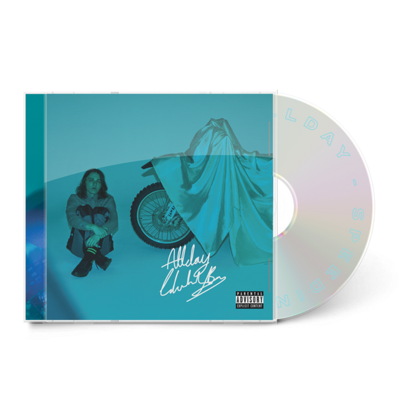 Allday Official Merch - Signed Speeding CD