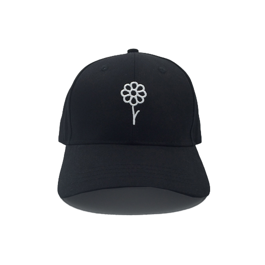 Ambleside Flower Hat (Black)