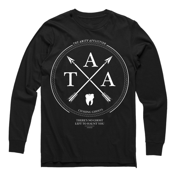 The Amity Affliction merch Arrows Long Sleeve (Black)