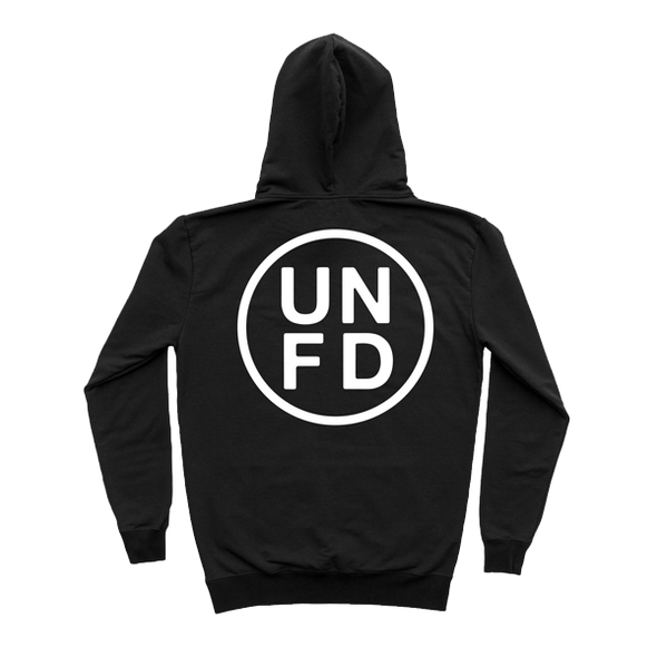 UNFD Embroidered Circle Logo Hoodie (Black)
