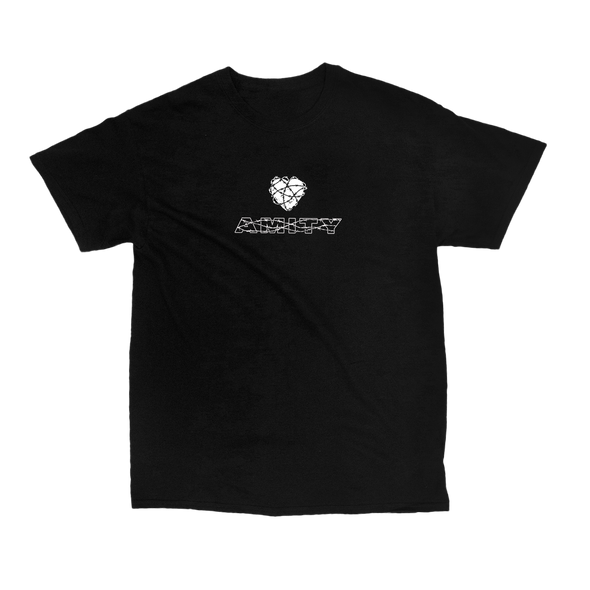 Barbed Wire Heart Tee (Black)