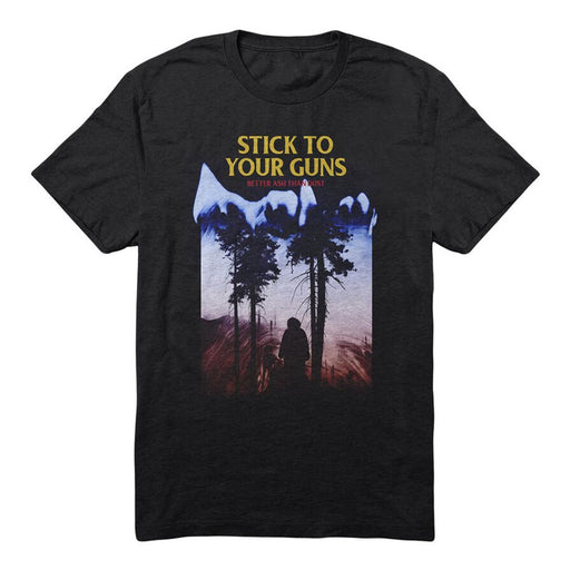 Stick To Your Guns Official Merch - Better Ash Than Dust Tee (Black)