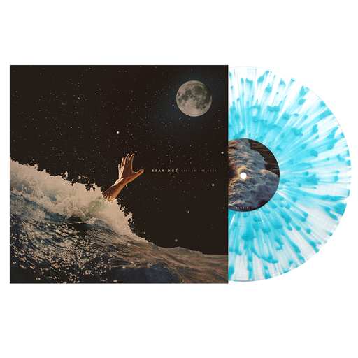 "Blue In The Dark 12"" Vinyl (Clear w/ Heavy Sea Blue Splatter)"