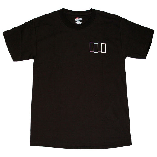 Outline Bars Pocket Logo Tee (Black)