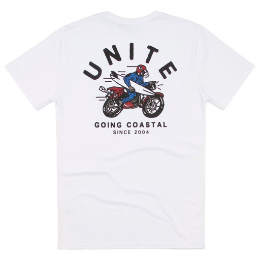 Unite Clothing Co. // Coastal Tee (White)