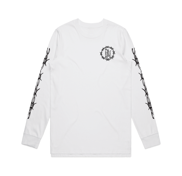 Drunk Lizard Long Sleeve (White)