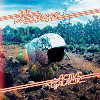 The Delta Riggs Official Merch - Active Galactic (CD)