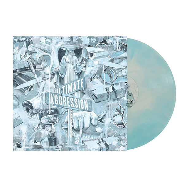 "Ultimate Aggression 12"" Vinyl (White w/ Baby Blue Galaxy)"