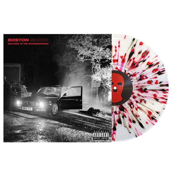 "Welcome To The Neighbourhood 12"" Vinyl (Clear w/ Black & Red Splatter)"