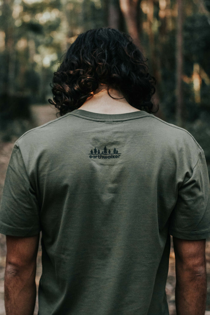 See The Forest Tee, Moss.