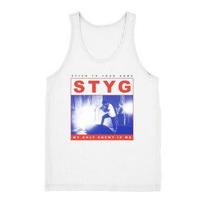 Stick To Your Guns Official Merch - My Only Enemy Tank (White)