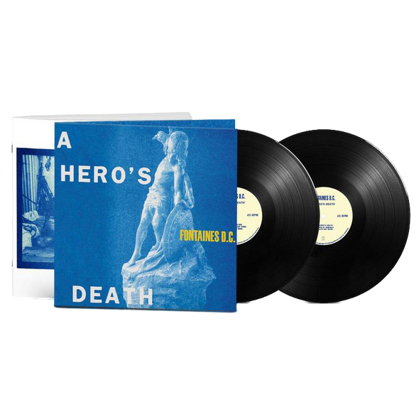 A Hero's Death 2LP (Deluxe Edition)