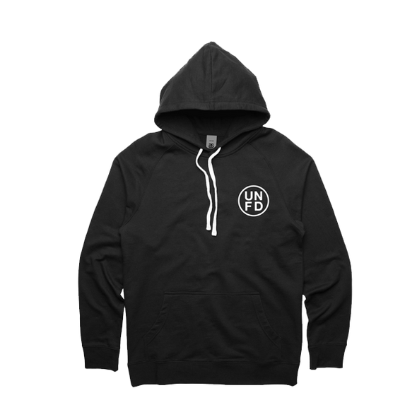 UNFD Official Merch - UNFD Embroidered Circle Logo Hoodie (Black)
