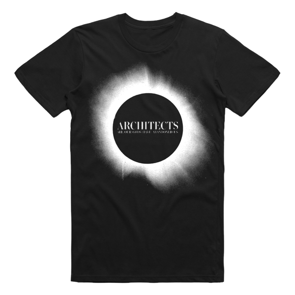Architects Official Merch - AOGHAU Tour Tee (Black)