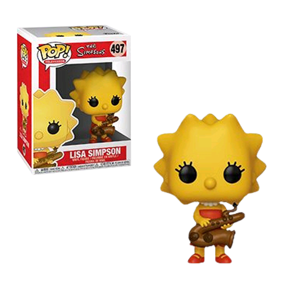Lisa Simpson Pop! Vinyl Figure