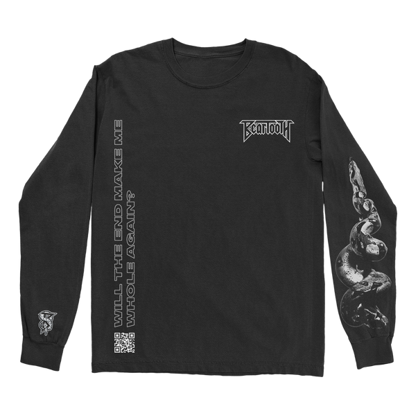 You Never Know Longsleeve (Black) // PREORDER