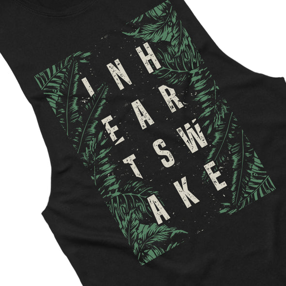 Palms Sleeveless (Black)