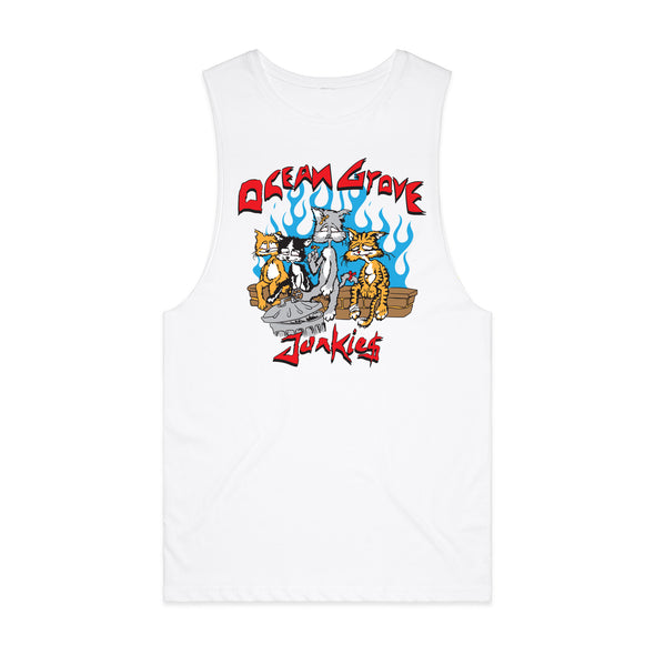 Cats Sleeveless (White)