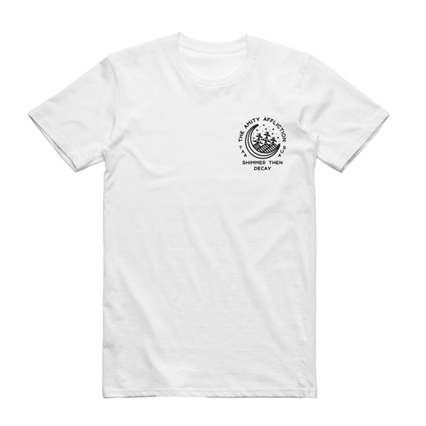 Moon Decay Tee (White)