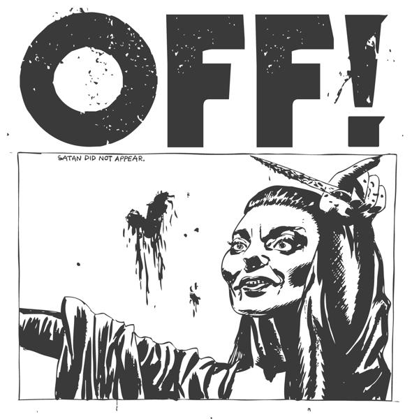 "OFF! - OFF! 12"" LP - White Vinyl (Ltd 300)"