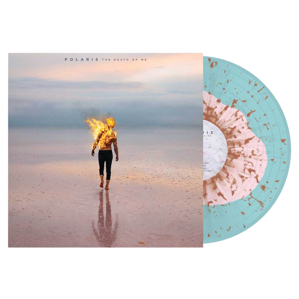 "The Death of Me 12"" Vinyl (Baby Pink in Electric Blue w/ Orange Splatter)"