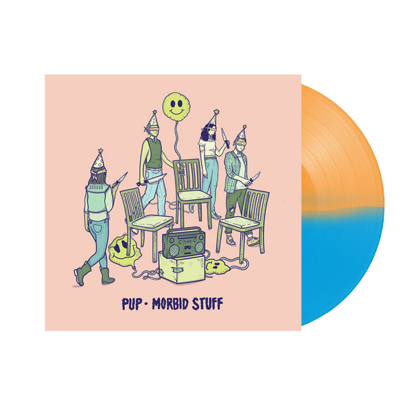 "Morbid Stuff 12"" Vinyl (Limited Half Orange/Half Blue Reissue)"